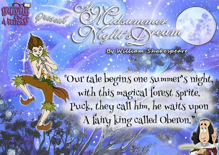 A Midsummer Night's Dream Comic Book Cover