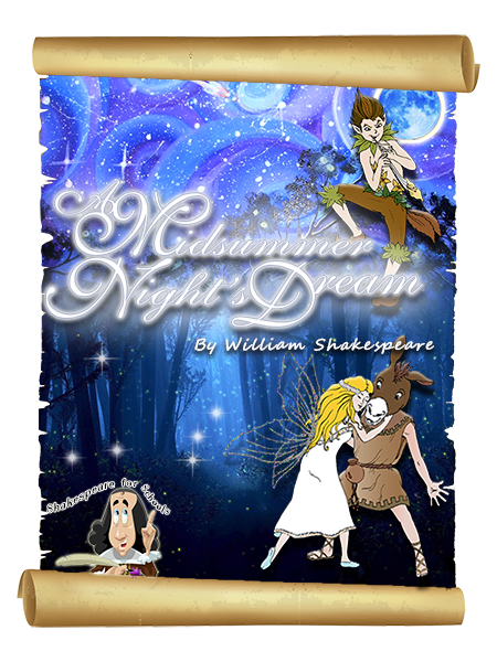 Shakespeare in a Suitcase  A Midsummer Nights Dream Poster