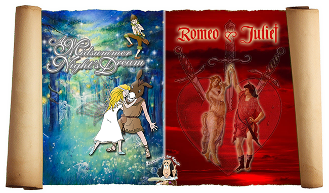 Shakespeare for Schools Shakespeare Double Bill Romeo and Juliet and A Midsummer Nights Dream