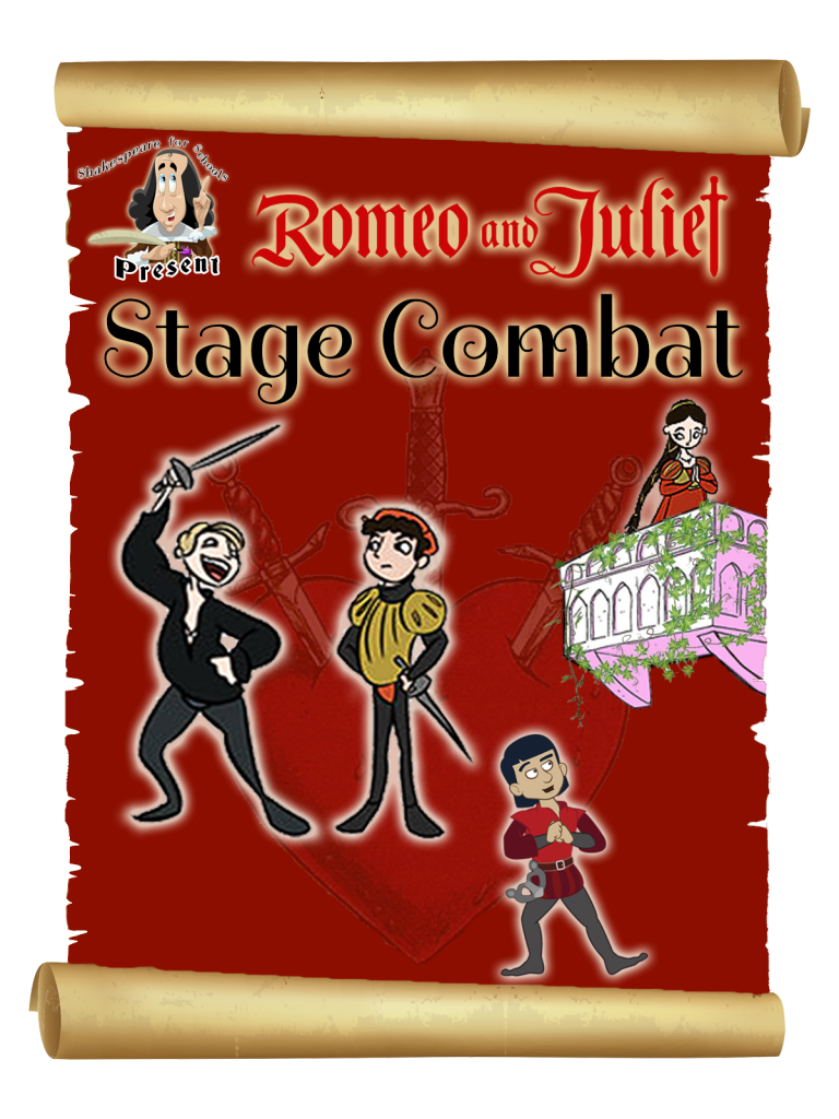 Shakespeare for Schools Stage Combat - Romeo & Juliet Poster