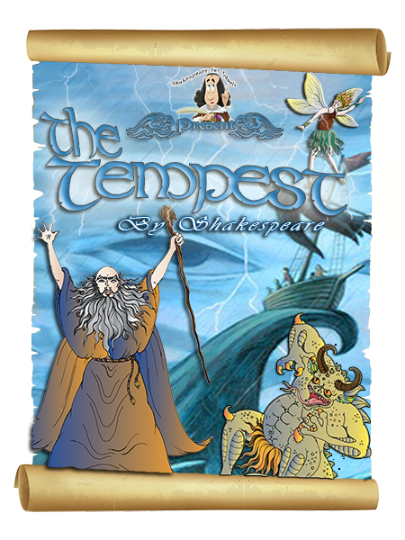 Shakespeare in a Suitcase The Tempest Play Poster